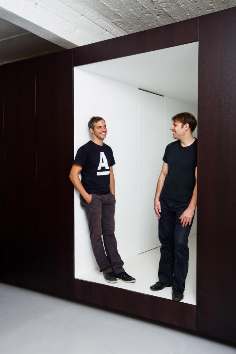 Dominic Dupont portraits for Blueprint Magazine